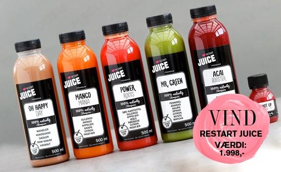 vind 2x 3 dages juicekur fra restart juice samlet v rdi kr. Black Bedroom Furniture Sets. Home Design Ideas